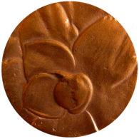 medalla camelia bronce