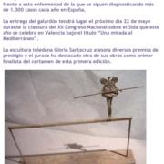 PREMIO DE ESCULTURA Y VIH