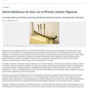 PRIMER PREMIO ESCULTURA JACINTO HIGUERAS PUBLICACIÓN