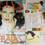 PUBLICACIONES ESCULTURAS EN REVISTA TELVA 2002