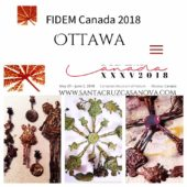 TARJETA FIDEM OTTAWA -CANADÁ 2018