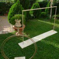 Detalle de esculturas para jardín.